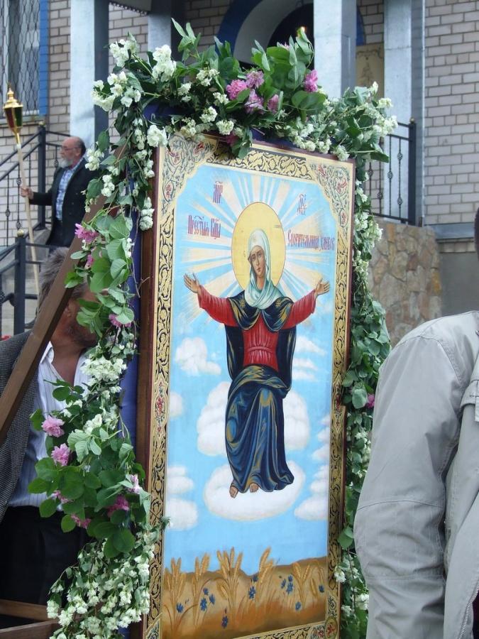 Крестный ход на День Святой Троице!