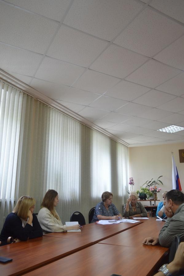 07.08.2017 года в здании Администрации Лесновского сельского поселения прошло совещание по вопросам мелиорации.